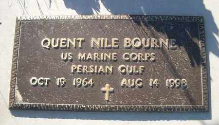 BOURNE, QUENT NILE - Sheridan County, Nebraska | QUENT NILE BOURNE - Nebraska Gravestone Photos