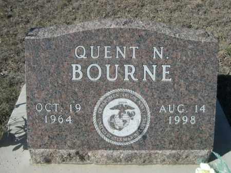 BOURNE, QUENT N. - Sheridan County, Nebraska | QUENT N. BOURNE - Nebraska Gravestone Photos