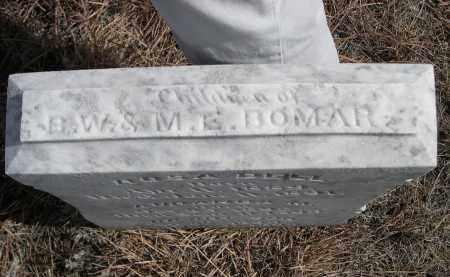 BOMAR, CHILDREN OF B.W. & M.E. - Sheridan County, Nebraska | CHILDREN OF B.W. & M.E. BOMAR - Nebraska Gravestone Photos
