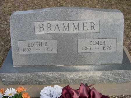 BRAMMER, ELMER - Sheridan County, Nebraska | ELMER BRAMMER - Nebraska Gravestone Photos