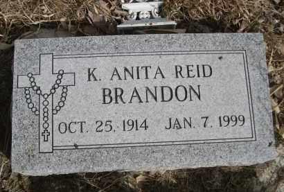 REID BRANDON, K ANITA - Sheridan County, Nebraska   K ANITA REID BRANDON - Nebraska Gravestone Photos