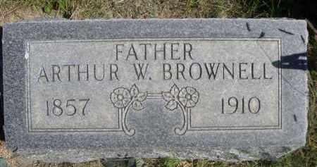 BROWNELL, ARTHUR W. - Sheridan County, Nebraska   ARTHUR W. BROWNELL - Nebraska Gravestone Photos