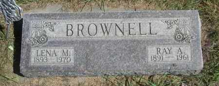 BROWNELL, RAY A. - Sheridan County, Nebraska | RAY A. BROWNELL - Nebraska Gravestone Photos