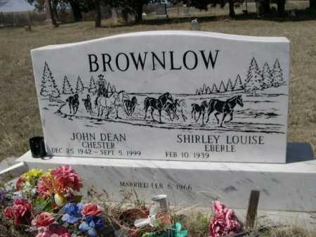BROWNLOW, SIRLEY LOUISE EBERLE - Sheridan County, Nebraska | SIRLEY LOUISE EBERLE BROWNLOW - Nebraska Gravestone Photos