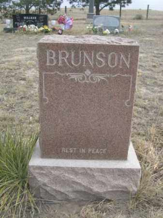 BRUNSON, FAMILY - Sheridan County, Nebraska | FAMILY BRUNSON - Nebraska Gravestone Photos