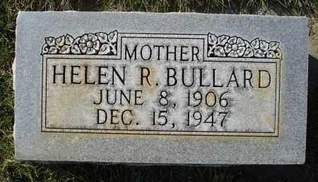BULLARD, HELEN R. - Sheridan County, Nebraska   HELEN R. BULLARD - Nebraska Gravestone Photos