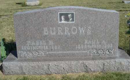 BURROWS, PAUL A. - Sheridan County, Nebraska   PAUL A. BURROWS - Nebraska Gravestone Photos