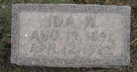 BURROWS, IDA W. - Sheridan County, Nebraska | IDA W. BURROWS - Nebraska Gravestone Photos