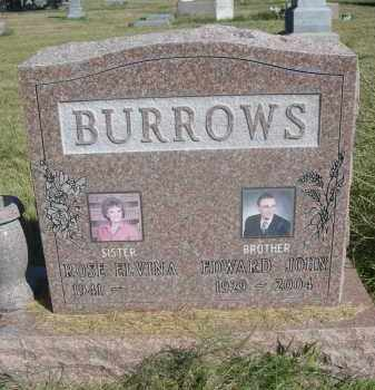 BURROWS, EDWARD JOHN - Sheridan County, Nebraska | EDWARD JOHN BURROWS - Nebraska Gravestone Photos