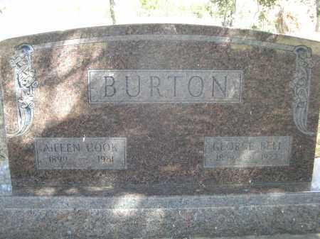 BURTON, ALIEEN - Sheridan County, Nebraska | ALIEEN BURTON - Nebraska Gravestone Photos