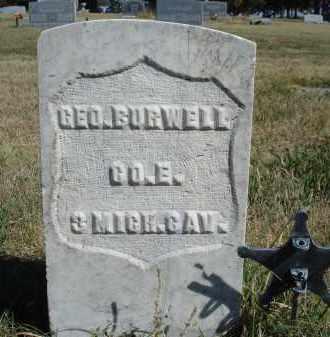 BURWELL, GEO. - Sheridan County, Nebraska | GEO. BURWELL - Nebraska Gravestone Photos