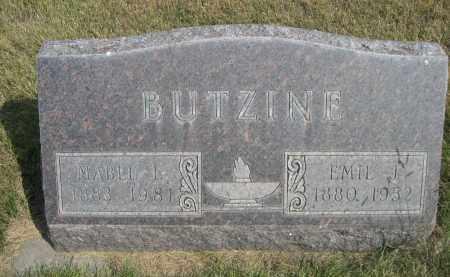 BUTZINE, MABEL L. - Sheridan County, Nebraska | MABEL L. BUTZINE - Nebraska Gravestone Photos