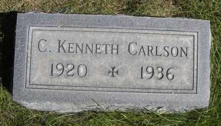 CARLSON, C. KENNETH - Sheridan County, Nebraska | C. KENNETH CARLSON - Nebraska Gravestone Photos