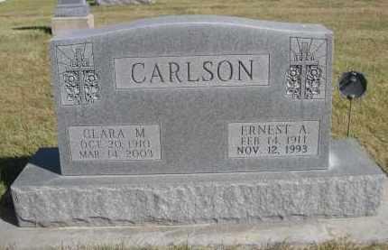 CARLSON, CLARA M. - Sheridan County, Nebraska | CLARA M. CARLSON - Nebraska Gravestone Photos