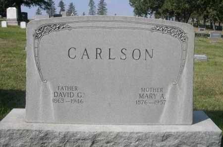 CARLSON, MARY A. - Sheridan County, Nebraska | MARY A. CARLSON - Nebraska Gravestone Photos