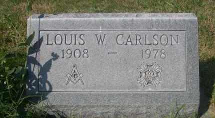 CARLSON, LOUIS W. - Sheridan County, Nebraska | LOUIS W. CARLSON - Nebraska Gravestone Photos