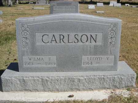 CARLSON, LLOYD V. - Sheridan County, Nebraska | LLOYD V. CARLSON - Nebraska Gravestone Photos