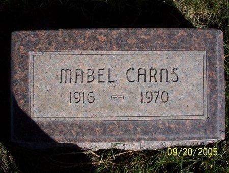 CARNS, MABEL ELIZABETH - Sheridan County, Nebraska | MABEL ELIZABETH CARNS - Nebraska Gravestone Photos