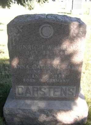 HALK CARSTSENS, ANNA CATHRINA - Sheridan County, Nebraska | ANNA CATHRINA HALK CARSTSENS - Nebraska Gravestone Photos