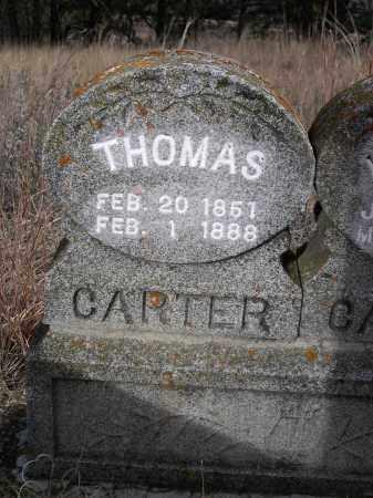 CARTER, THOMAS - Sheridan County, Nebraska | THOMAS CARTER - Nebraska Gravestone Photos