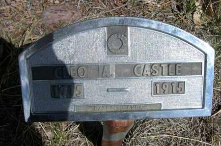 CASTLE, CLEO A. - Sheridan County, Nebraska | CLEO A. CASTLE - Nebraska Gravestone Photos