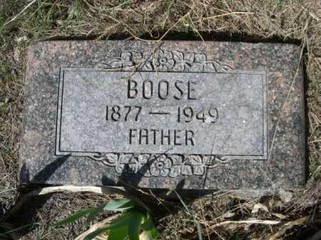 CHALUPA, BOOSE - Sheridan County, Nebraska | BOOSE CHALUPA - Nebraska Gravestone Photos
