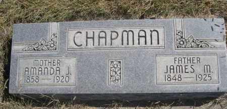 CHAPMAN, AMANDA J. - Sheridan County, Nebraska | AMANDA J. CHAPMAN - Nebraska Gravestone Photos