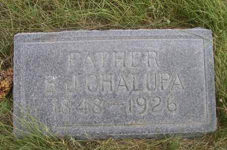 CHALUPA, B.J. - Sheridan County, Nebraska   B.J. CHALUPA - Nebraska Gravestone Photos