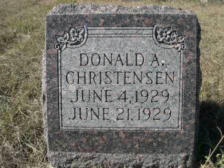 CHRISTENSEN, DONALD A. - Sheridan County, Nebraska | DONALD A. CHRISTENSEN - Nebraska Gravestone Photos
