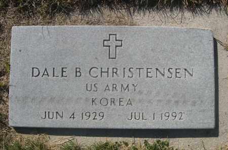 CHRISTENSEN, DALE B. - Sheridan County, Nebraska   DALE B. CHRISTENSEN - Nebraska Gravestone Photos