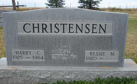 CHRISTENSEN, HARRY C. - Sheridan County, Nebraska | HARRY C. CHRISTENSEN - Nebraska Gravestone Photos