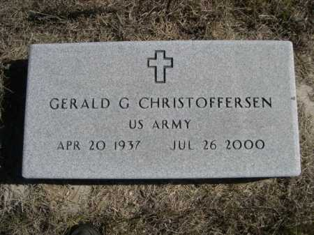 CHRISTOFFERSEN, GERALD G. - Sheridan County, Nebraska   GERALD G. CHRISTOFFERSEN - Nebraska Gravestone Photos