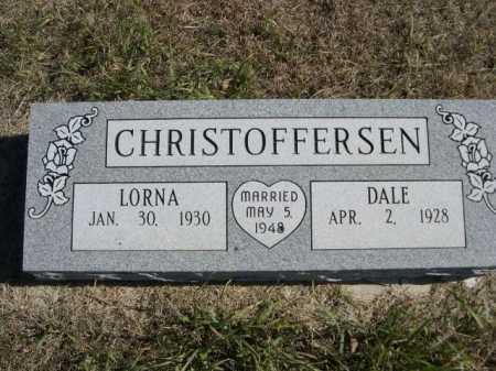 CHRISTOFFERSEN, LORNA - Sheridan County, Nebraska   LORNA CHRISTOFFERSEN - Nebraska Gravestone Photos