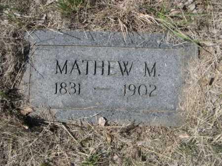 CHURCHILL, MATHEW M. - Sheridan County, Nebraska | MATHEW M. CHURCHILL - Nebraska Gravestone Photos
