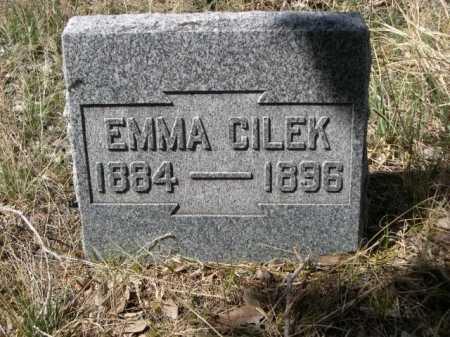 CILEK, EMMA - Sheridan County, Nebraska | EMMA CILEK - Nebraska Gravestone Photos