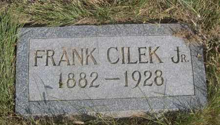 CILEK, FRANK JR. - Sheridan County, Nebraska | FRANK JR. CILEK - Nebraska Gravestone Photos