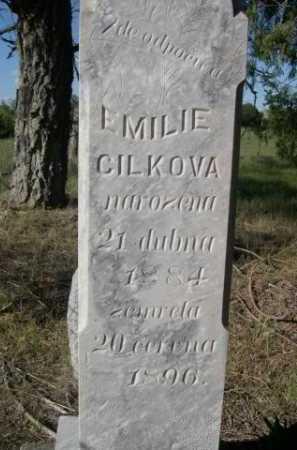 CILKOVA, EMILIE - Sheridan County, Nebraska   EMILIE CILKOVA - Nebraska Gravestone Photos