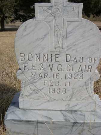 CLAIR, BONNIE - Sheridan County, Nebraska   BONNIE CLAIR - Nebraska Gravestone Photos