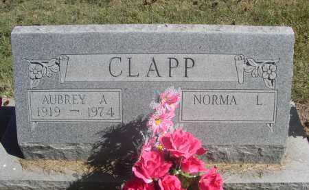 CLAPP, AUBREY A. - Sheridan County, Nebraska | AUBREY A. CLAPP - Nebraska Gravestone Photos