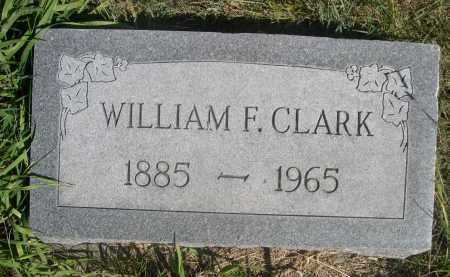 CLARK, WILLAIM F. - Sheridan County, Nebraska | WILLAIM F. CLARK - Nebraska Gravestone Photos