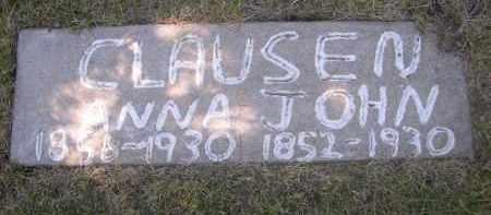 CLAUSEN, ANNA - Sheridan County, Nebraska | ANNA CLAUSEN - Nebraska Gravestone Photos