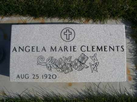 CLEMENTS, ANGELA MARIE - Sheridan County, Nebraska | ANGELA MARIE CLEMENTS - Nebraska Gravestone Photos