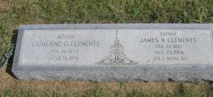 CLEMENTS, CATHERINE C. - Sheridan County, Nebraska | CATHERINE C. CLEMENTS - Nebraska Gravestone Photos