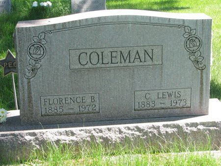 BRESEE COLEMAN, FLORENCE - Sheridan County, Nebraska | FLORENCE BRESEE COLEMAN - Nebraska Gravestone Photos