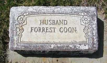 COON, FORREST - Sheridan County, Nebraska | FORREST COON - Nebraska Gravestone Photos