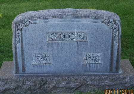COON, EDWARD - Sheridan County, Nebraska | EDWARD COON - Nebraska Gravestone Photos
