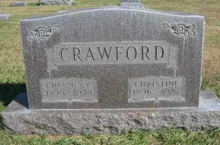 CRAWFORD, CHANNCEY - Sheridan County, Nebraska | CHANNCEY CRAWFORD - Nebraska Gravestone Photos