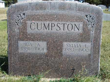 CUMPSTON, IDA A. - Sheridan County, Nebraska | IDA A. CUMPSTON - Nebraska Gravestone Photos