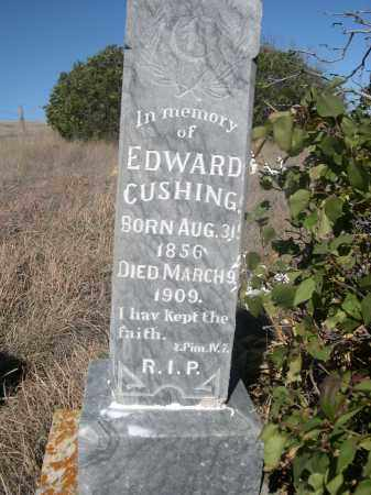 CUSHING, EDWARD - Sheridan County, Nebraska | EDWARD CUSHING - Nebraska Gravestone Photos