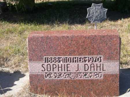 DAHL, SOPHIE J. - Sheridan County, Nebraska | SOPHIE J. DAHL - Nebraska Gravestone Photos